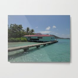 Pusser's Marina Cay, British Virgin Islands Metal Print