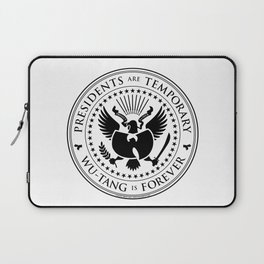 Presidents are Temporary - Black Laptop Sleeve