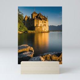 Chillon Castle 2 Mini Art Print