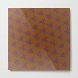 Starry Flowers Metal Print