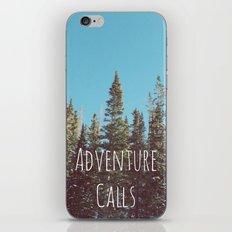 Adventure Calls iPhone & iPod Skin