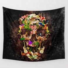 Animal Kingdom Sugar Skull iPhone 4 4s 5 5s 5c 6, ipod, ipad, pillow case and tshirt Wall Tapestry