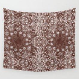 brown Mandala Wall Tapestry