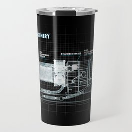 The Z-Machinery - Technical Blueprint Travel Mug