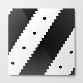 SNEAKERPILLOW - ADIDAS SUPERSTAR Metal Print