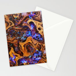 Boulder Opal Abstract Stationery Cards