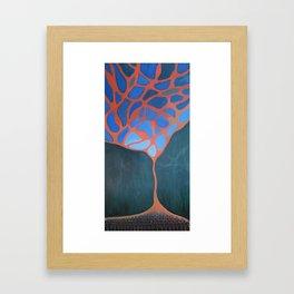The Wrong Line Framed Art Print
