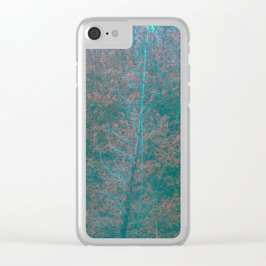 Desolate Thoughts Clear iPhone Case