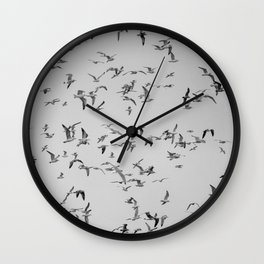 A Flock of Seagulls Wall Clock
