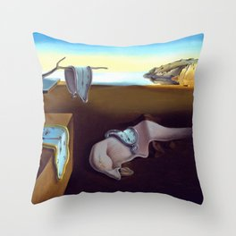 Salvador Dali The Persistence of Memory 1931 Artwork, Wall Art, Prints, Posters, Tshirts, Men, Women Throw Pillow