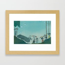 Parade two Framed Art Print