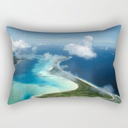 Bora Bora: South Pacific Paradise Rectangular Pillow
