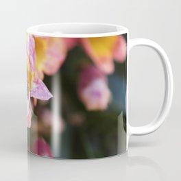 Tangerine Beauty Cross Vine with a Bumblebee Coffee Mug