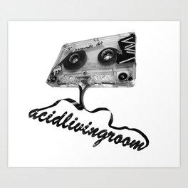 AcidLivingRoom Art Print