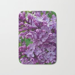 Lilac Blooms Bath Mat