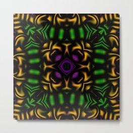 Secondary Kaleidoscope 2 Metal Print