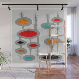 Mid-Century Modern Space Age 2 Wall Mural