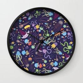 Rainbow Jelly Wall Clock