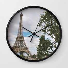 From Paris, With Love Wall Clock