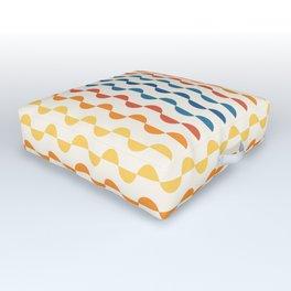 Gwynne Pattern - Vintage 70's Outdoor Floor Cushion
