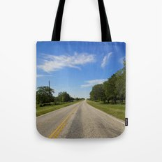 The Road Less Travelled Tote Bag