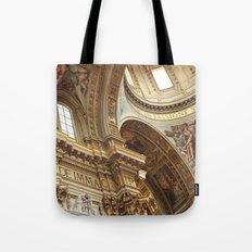 pray for love Tote Bag