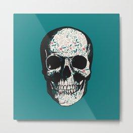 G-Skull Metal Print