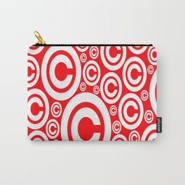 Vector Copyright Symbol Seamless nice idea for our products Carry-All Pouch