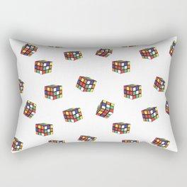 Rubik's Pattern Rectangular Pillow