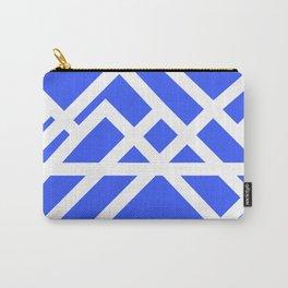 Brutalist Blueprint (Blue) Carry-All Pouch