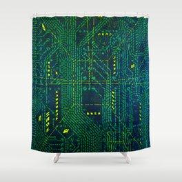 Tao Hacker Shower Curtain