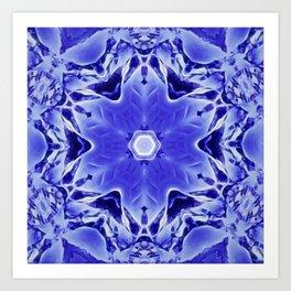A Blue World Art Print