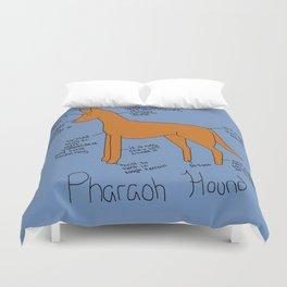 Pharaoh Hound Duvet Cover