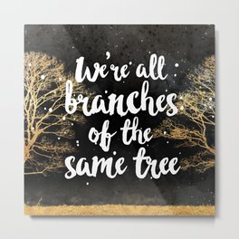Branches of a Tree Metal Print
