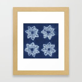 Shibori five Framed Art Print