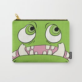Little Green Monster Carry-All Pouch