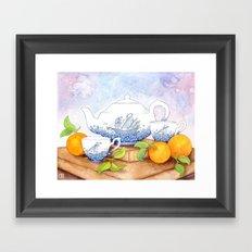 January II Framed Art Print