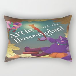 Artie and the Hummingbird Book Cover Rectangular Pillow