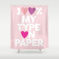 Love Island 2 Shower Curtain