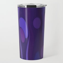 Funky Purple Travel Mug