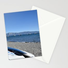 Paddle boards at Lake Tahoe Stationery Cards