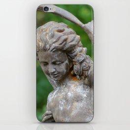 Backyard Statue iPhone Skin