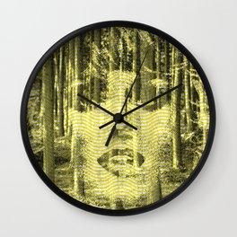 Lifelike. Wall Clock