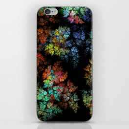 Leaves - fractal art iPhone Skin