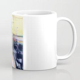 """Stigmata Puppets"".  - mixed media, original is stretched canvas 24' x 36"". Coffee Mug"