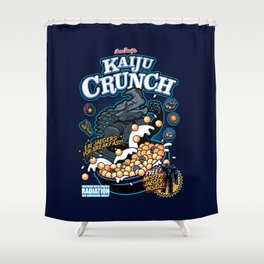 Kaiju Crunch Shower Curtain
