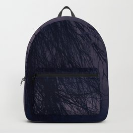Branches in Purple Twilight Backpack