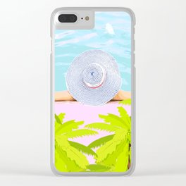 Summer time V2 #society6 Clear iPhone Case