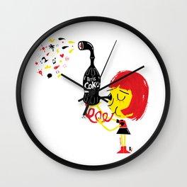 PerisCoke Wall Clock