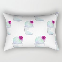 Watercolour Cactus no 1 Rectangular Pillow